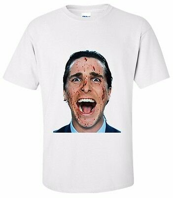 AMERICAN PSYCHO T- Shirt Size SMALL, MEDIUM,LARGE,XL