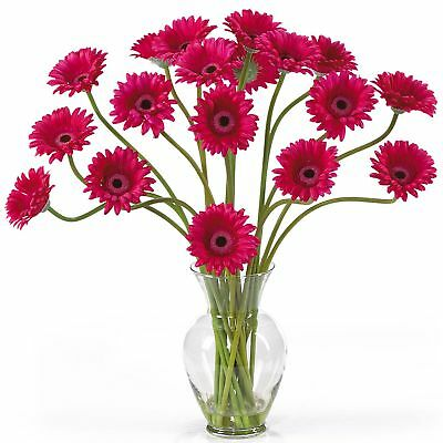 "21"" Gerbera Daisy Silk Flower Arrangement -Beauty"
