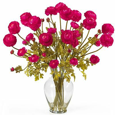 "24"" Ranunculus Silk Flower Arrangement -Beauty"