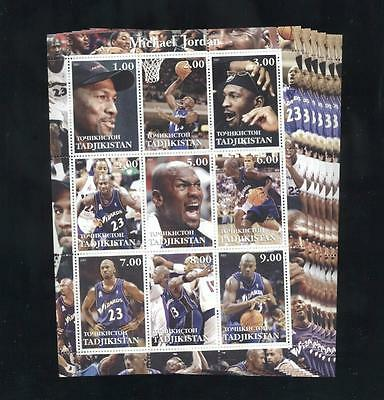 (925128) 6x Basketball, Jordan Michael, Small lot, Private / local issue