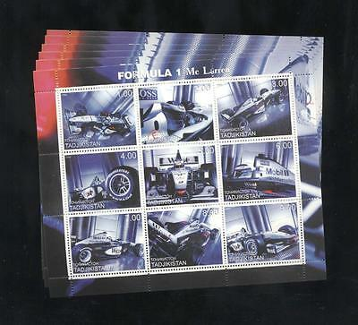 (925130) 6x Formula 1, Racing Cars, Small lot, Private / local issue