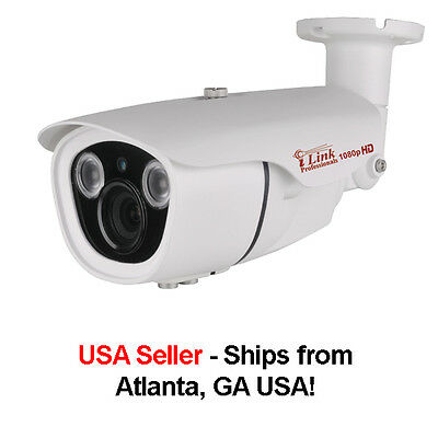1/2.9'' Sony Exmor HD 1080P/2000+ TVL Analog w/ Vari-focal Lens, Dual Voltage