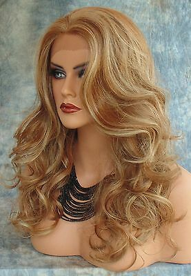 LACE FRONT Wig Layered Soft Long Sexy Graceful Curls CLR FS8.27.613  US SELL 218