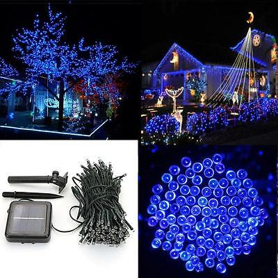 Charm LED Solar Power String Lights Party Xmas Wedding Outdoor Tree Decor Lamp