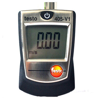 Testo 405-V1 Thermal Anemometer with Duct Holder Air/Wind Speed Meter Tester