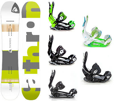 Snowboard Pathron Blade Rocker + Raven, Pathron, Rage Fastec Bindungen - Neu!