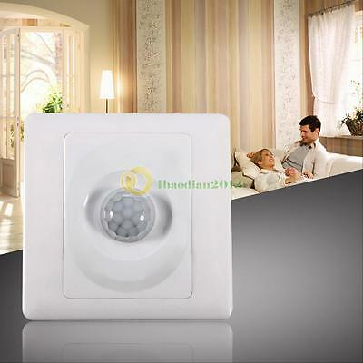 Infrared IR Body Motion Sensor Wall Mount Control Led Light  Auto ON/OFF Switch