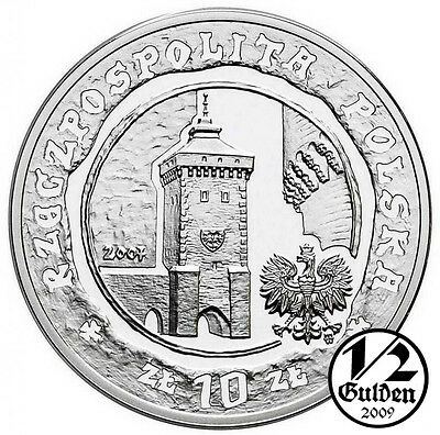 POLAND 10 Zlotych 2007 750 Years of Krakow Silver Proof Coin