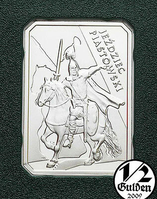 POLAND 10 Zlotych 2006 Polish Cavalry The Piast Horseman Silver Proof Coin