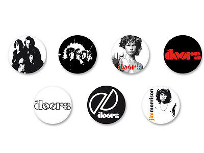 Lot Pack Badge Button Ø25mm The Doors Rock US Jim Morrison Groupe Band