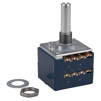 ALPS RK27 20KA Audio Taper Potentiometer Solid Shaft