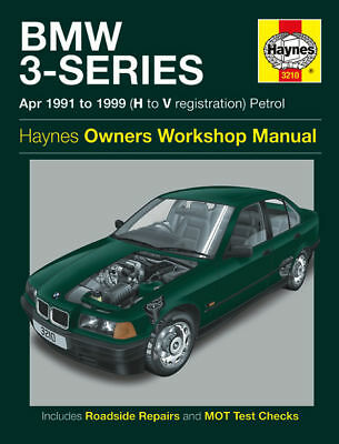 BMW 3-Series E36 316 318 320 323i 325 328 Haynes Manual 3210 NEW