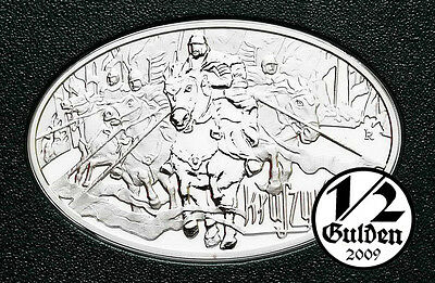 POLAND 10 Zlotych 2010 Great Battles Kluszyn Silver Proof Coin