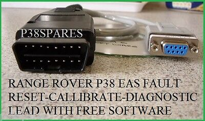 Range Rover P38 94 02 EAS Air Suspension Diagnostic range rover p38 eas rs232 suspension reset cable tool �17 50  at n-0.co
