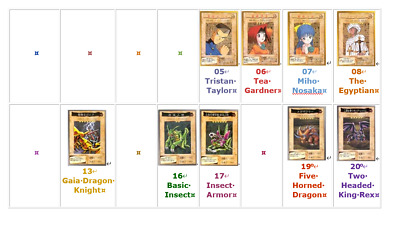 Yu-Gi-Oh! 1998 #1 - 118 Common Bandai Official Cards Selected by You! Near Mint!