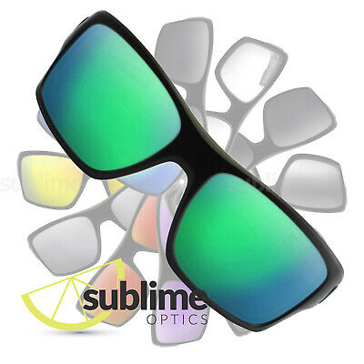 POLARIZED Metallic Emerald Green Replacement Lenses for Oakley Turbine