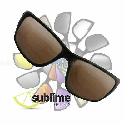 POLARIZED Dark Brown Replacement Lenses for Oakley Canteen NEW 2014  ~ Bronze