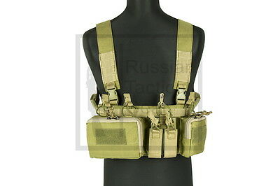MBC Russian D3CR-H Heavy Tactical Chest Rig (Coyote Brown)