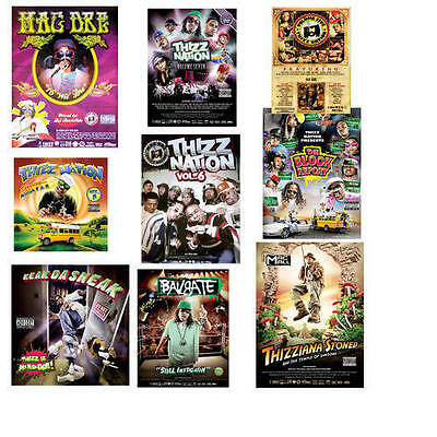 Mac Dre & more - Thizz Nation Poster Pack 10 POSTERS FOR AN AMAZING LOW PRICE!