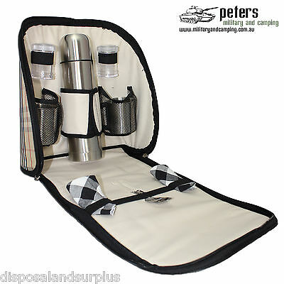 Picnic Set coffee back pack bag, compact 2 person coffee set