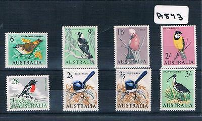 Australian Stamps Birds 8 Values MUH   A873