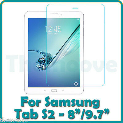 Premium Tempered Glass Screen Protector Samsung Galaxy Tablets Tab A Tab S2