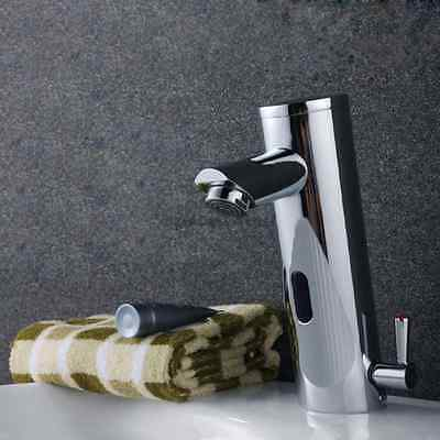 Hands Free Automatic Sensor Bathroom Wash Basin Faucet Touchless Sink Mixer Tap