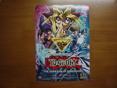 Yu-Gi-Oh THE DARK SIDE OF DIMENSIONS MOVIE FLYER Mini Poster ver.2Japan27-12-3