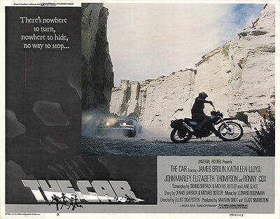 The Car 1977 Original Movie Poster Action Horror Mystery