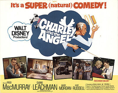 Charley and the Angel 1973 Original Movie Poster Comedy Family Fantasy