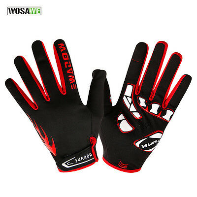 Shockproof Bicycle Gloves Riding Mountain Bike Outdoor Motorcycle Full Finger