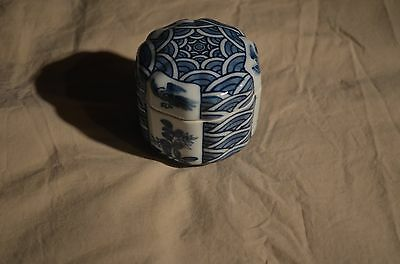 Blue and White Japanese Box