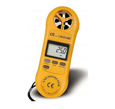 LM-81AM Mini Anemometer Air Meter/Tester Wind Gauge Anemograph LM81AM
