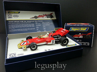 Kinderrennbahnen Superslot Legends H3657a Lotus Typ 72 #8 Tony Trimmer Scalextric Uk Mb Spielzeug