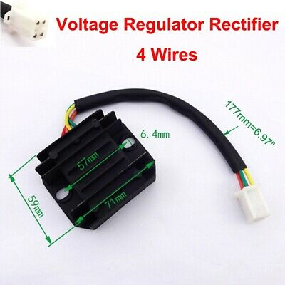 12V AC Voltage Regulator Rectifier For 150cc 200cc 250cc ATV Pit Dirt Bike Moped