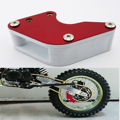 Red Swingarm Guard Chain Guide For Chinese Pit Dirt Bike Honda XR50 CRF50 CRF70