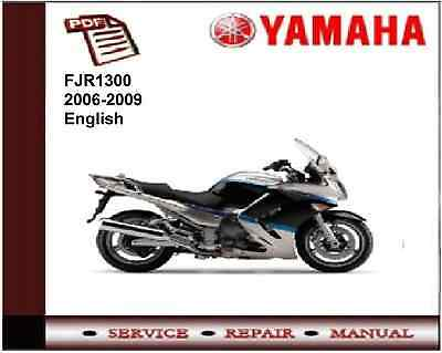 Yamaha FJR1300 2006 - 2008 workshop Service repair Manual