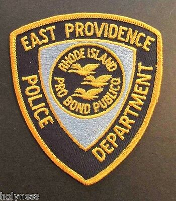 Vintage Patch / East Providence Police Dept / Rhode Island / Never Used