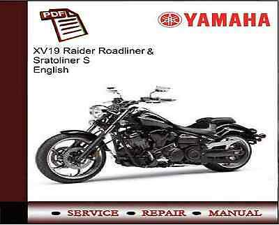 yamaha xv19 xv1900 raider roadliner stratoliner s repair workshop rh picclick co uk Yamaha Stratoliner Accessories Yamaha Stratoliner Accessories
