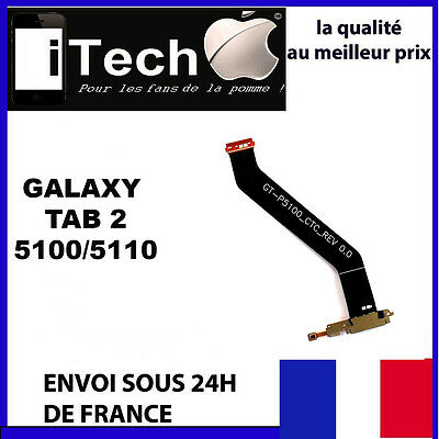 "Nappe Connecteur De Charge Dock Samsung Galaxy Tab 2 - 10,1"" P5100/P5110"