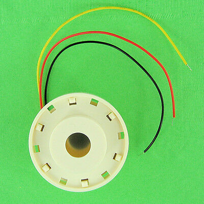 Loud 100db Mini Horn Piezo Alarm, Pulse Mode Extends Battery Life 12VDC 9V DC 6V