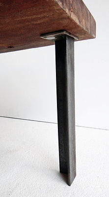 DIY SET of 4 Angle Iron Table Legs for coffee table Handmade RAW Unfinished