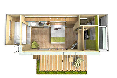 20' FT Shipping Container Home -160 Sqft - Brand New - Made in USA