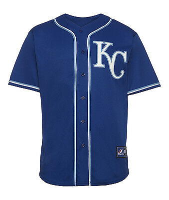 Majestic MLB Kansas City Royals Replica Jersey