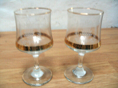 Prince Charles And Lady Diana Spencer Royal Wedding Glasses 29th July 1981
