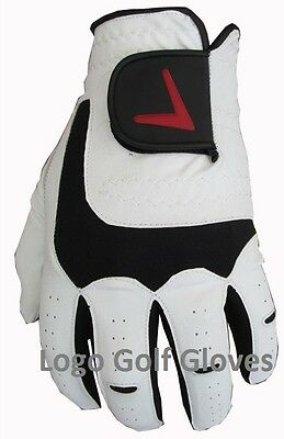 Gents Golf Glove Cabretta Leather Palm Small Medium Large Extra Large XL V Logo