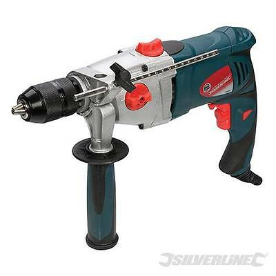 Silverline 1010w Hammer Drill Driver masonry electric power impact with Warranty