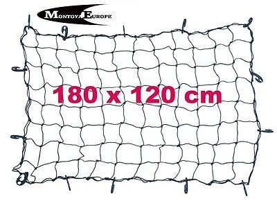 14 Hook Universal Car Trailer Cargo Luggage Elastic Mesh Net 180 x 120