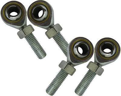 Track / Tie Rod Ends Nylon 2 x LH & 2 x RH with Nuts UK KART STORE