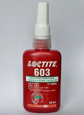 Loctite 603 Green Threadlocker - High Strength Retaining Compound - 50ml 1.69oz
